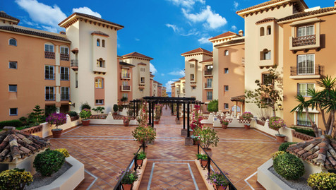 Entrance to Marbella Beach Resort