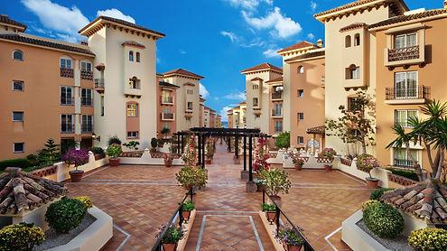 Marriott's Marbella Beach Resort entrance