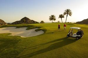 Anfi Tauro Golf Club at dusk