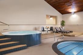 Hot tub at Burn Park in Bode