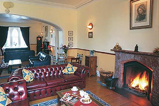 Knocktopher Abbey traditional lounge