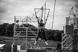 testing the zipline