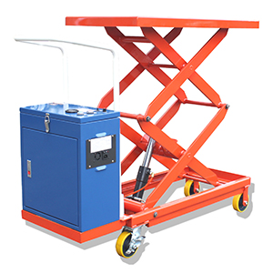 Pilot Powered Lift Table Truck