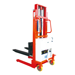 Semi-electric Pallet Stacker