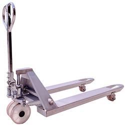 白鐵油壓拖板車