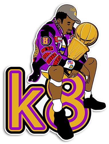 K8 Champion  Sticker