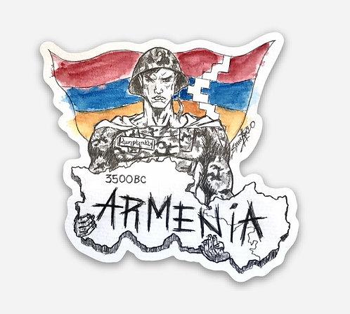 3500BC Armenia Magnet