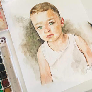 Watercolor Commissioned Piece