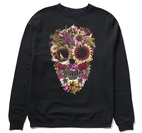 Flower Skull Crewneck