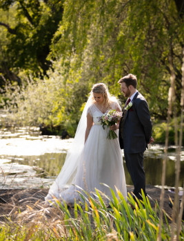 Our bride Harriet's wedding story