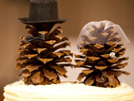 Christmas wedding festive cheer!