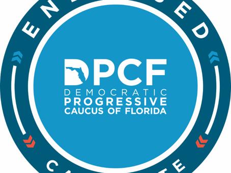 Endorsed by Democratic Progressive Caucus of Florida