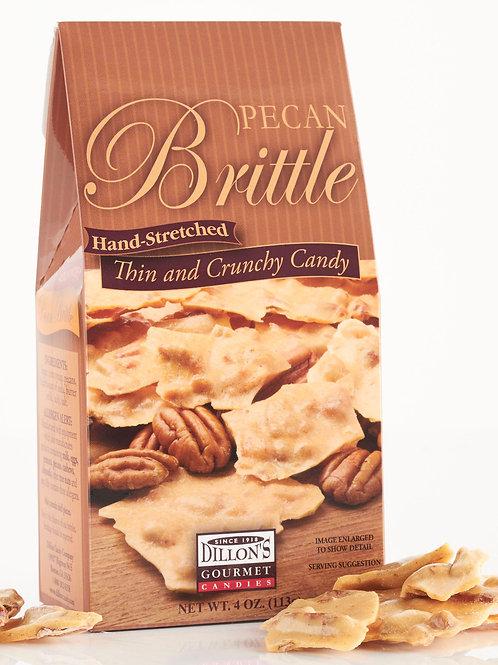 Brittle, Pecan, 4 oz Gable Box, 12 ct