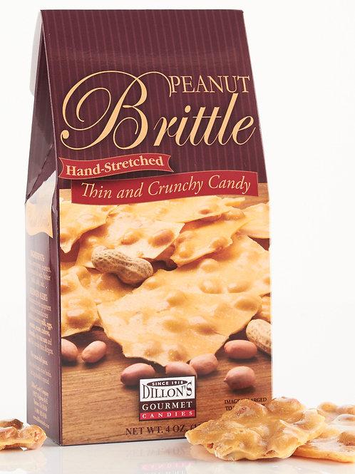 Brittle, Peanut, 4 oz Gable Box, 12 ct