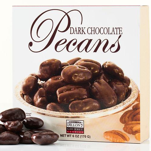 6 oz Dark Chocolate Pecans (12 / Count) NEW SIZE