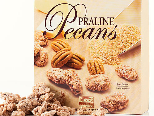6 oz Box of Praline Pecans (12 Count) NEW SIZE
