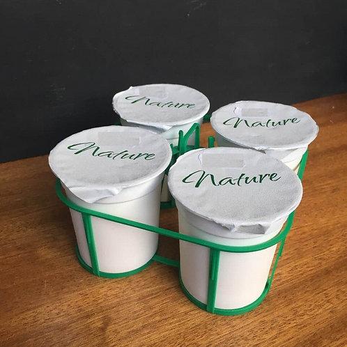 yaourt nature x4