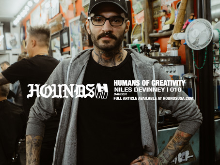 HUMANS OF CREATIVITY: NILES DEVINNEY
