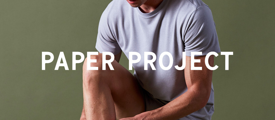 PAPER PROJECT Announces A New Line of Innerwear Made with Paper Yarn