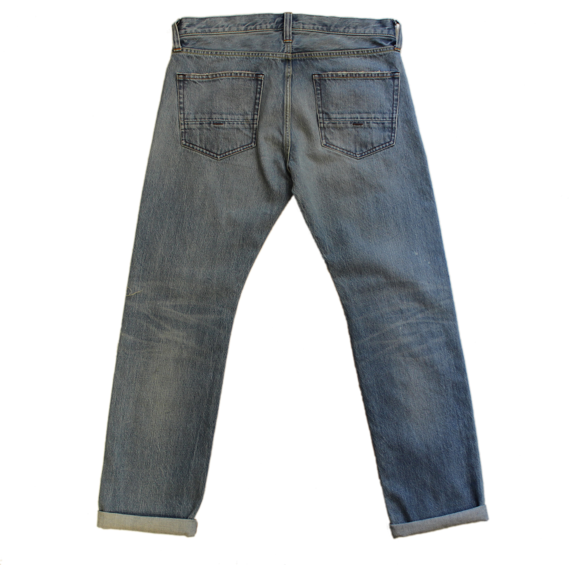 Slim Straight Leg Selvedge Denim