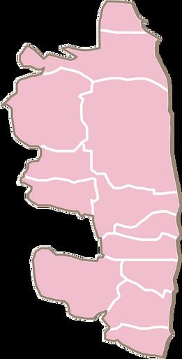 相双地方市町村マップ