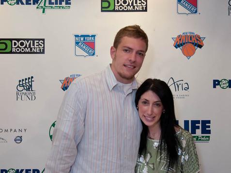 David Lee and Lauren Rae Levy