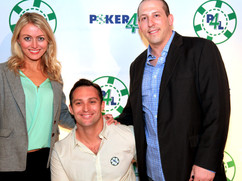 P4L Founders with Actress Amy Rutberg