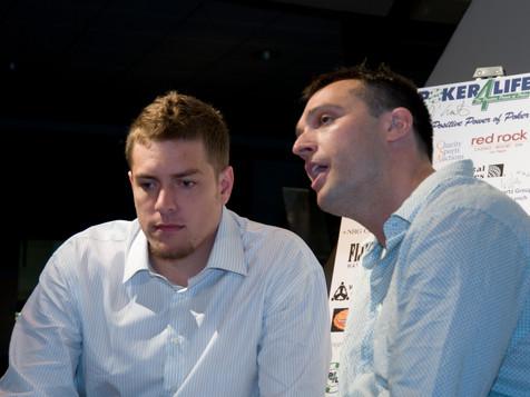 P4L Founder Ethan Ruby & NY Knicks David Lee