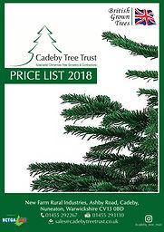 Cadeby Tree Trust Pricelist