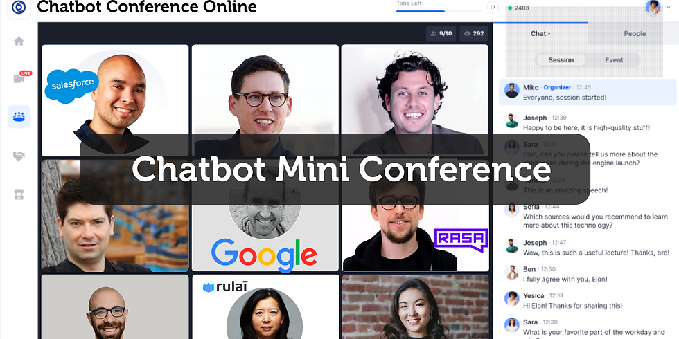 Chatbot Mini Conference Online