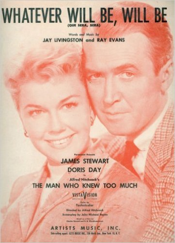 Doris Day Jimmy Stewart Que Sera