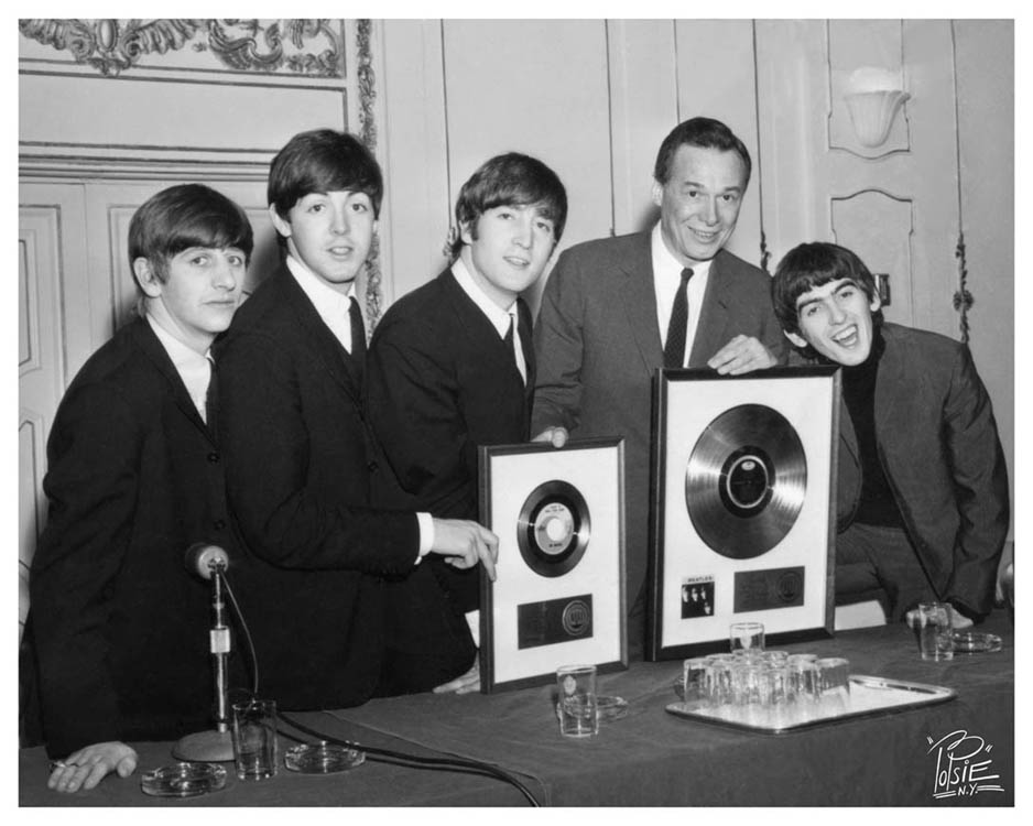 Beatles Photo With Alan
