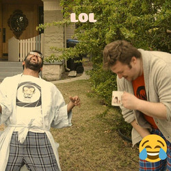 What's so funny_ Tune in tomorrow to find out