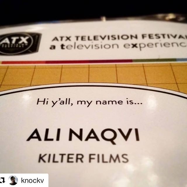 _knockv at the #atxfestival 👯 #heckya #werkit #makingithappen #thosb #pros