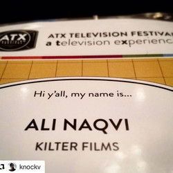 _knockv at the #atxfestival 👯 #heckya #werkit #makingithappen #thosb #pros