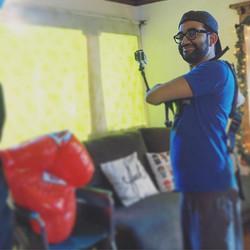 _knockv all rigged ⬆️! #gopro #sketchcomedy #musicvideo #werkwerkwerkwerkwerk #thosb