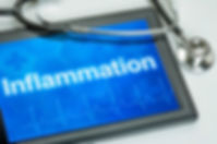 Tablet with the diagnosis Inflammation o