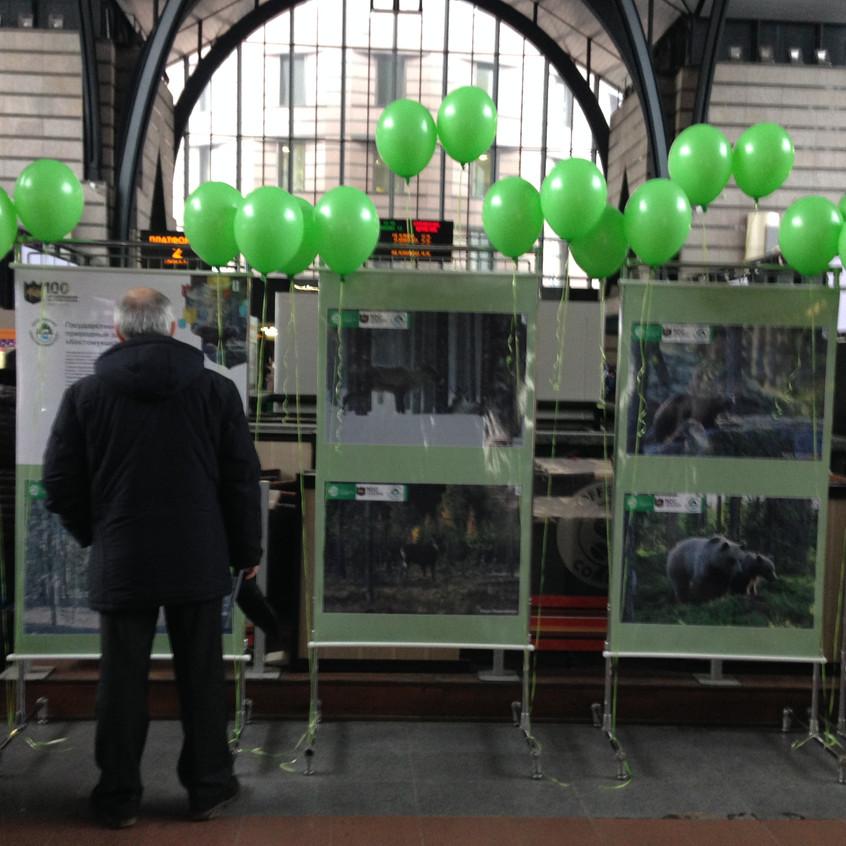 Выставка на Ладожском вокзале 3