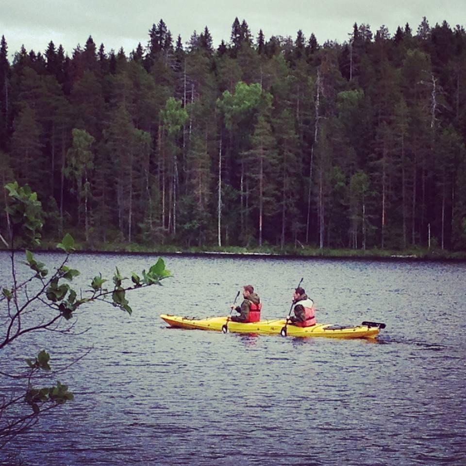 Первые исследователи озера
