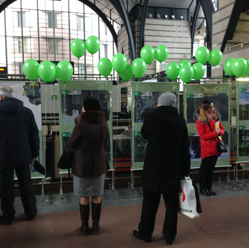 Выставка на Ладожском вокзале 4