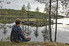 Григорий и озеро Каменное