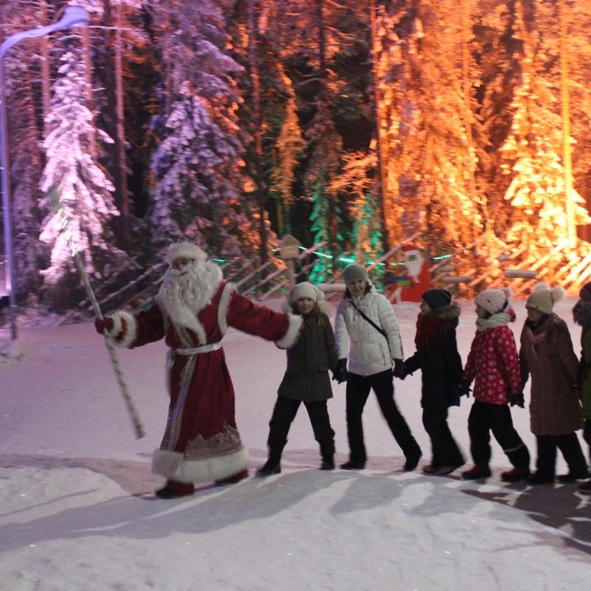 В гостях у заповедного Деда мороза97