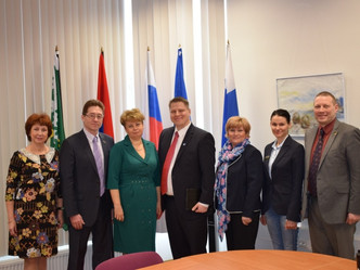 Встреча с консулом Финляндии