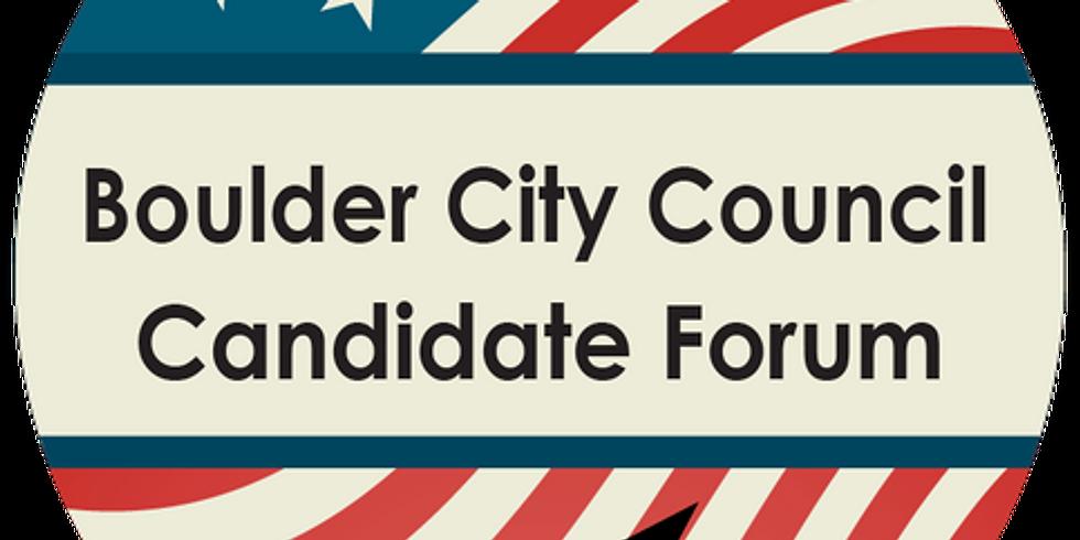 Boulder Chamber City Council Candidate Forum