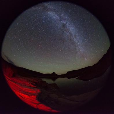 Lake Powell Milky Way