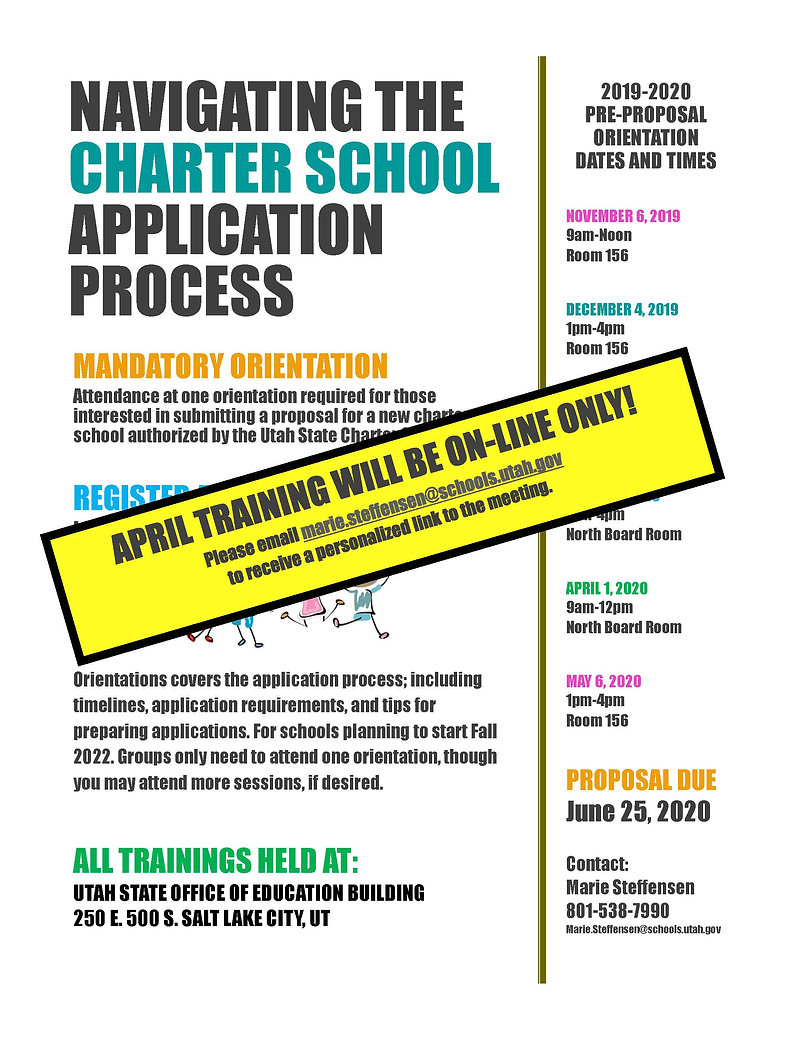 19-20 Charter App Process Training--Apri