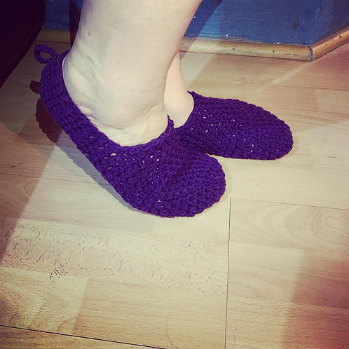 Crocheted Adult Socks
