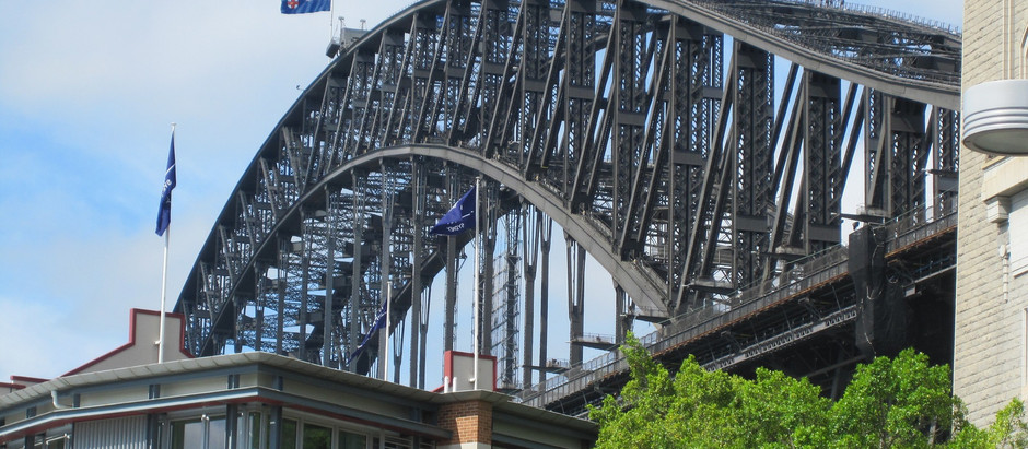 1,332 steps - Sydney harbour bridge climb