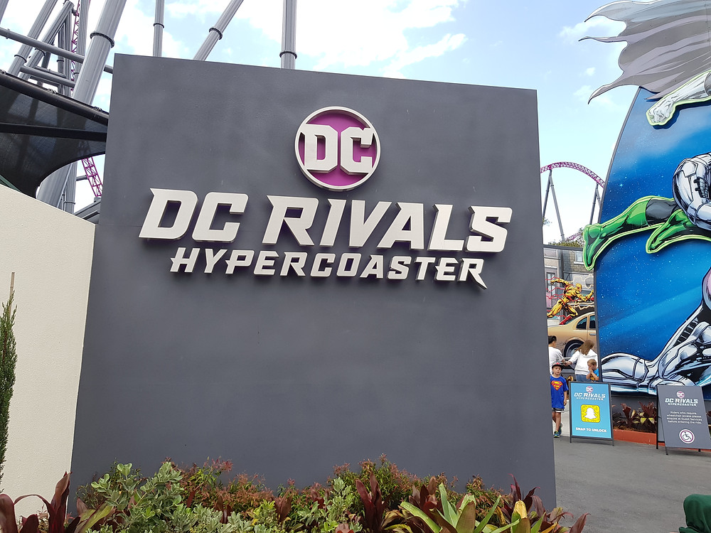 DC Rivals HyperCoaster Entry