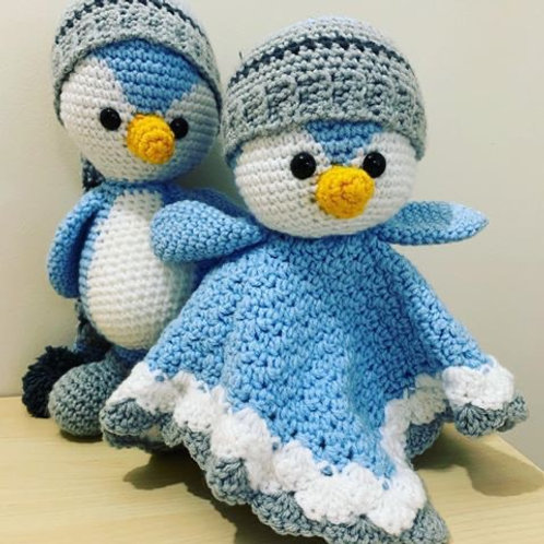 Penguin Toy and Lovey